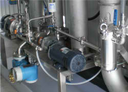 chemical treatment injection system