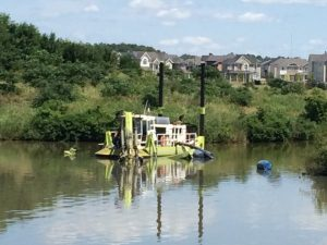 stormwater sediment dredging