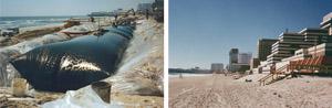 hidden shoreline protection systems