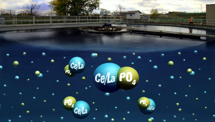 ClariPhos forms a tight bond with phosphorus